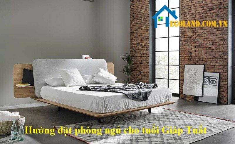 Hướng đặt giường ngủ tuổi Giáp Tuất