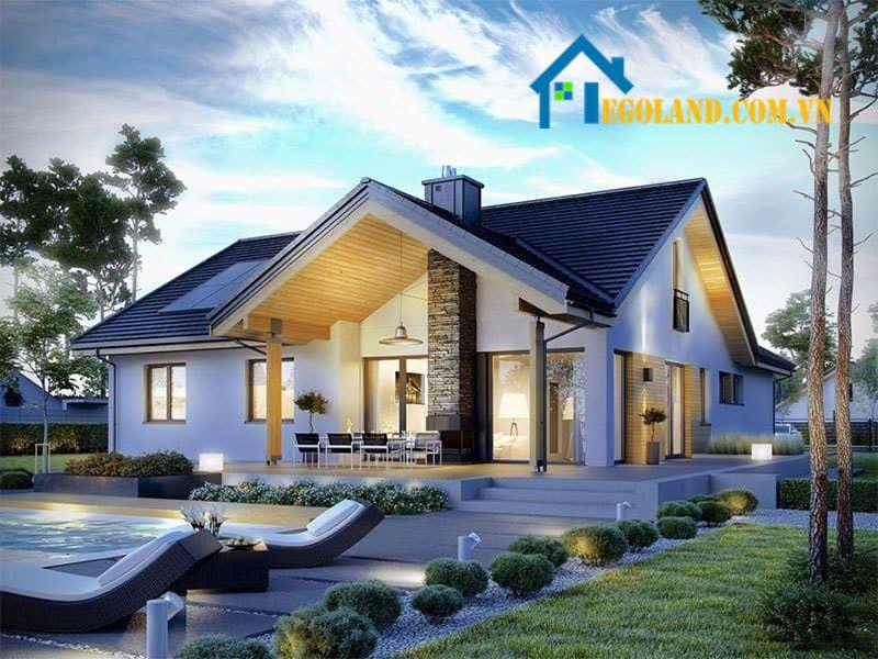 Không nên chọn ngôi nhà được xây trên mảnh đất méo mó nhiều góc cạnh