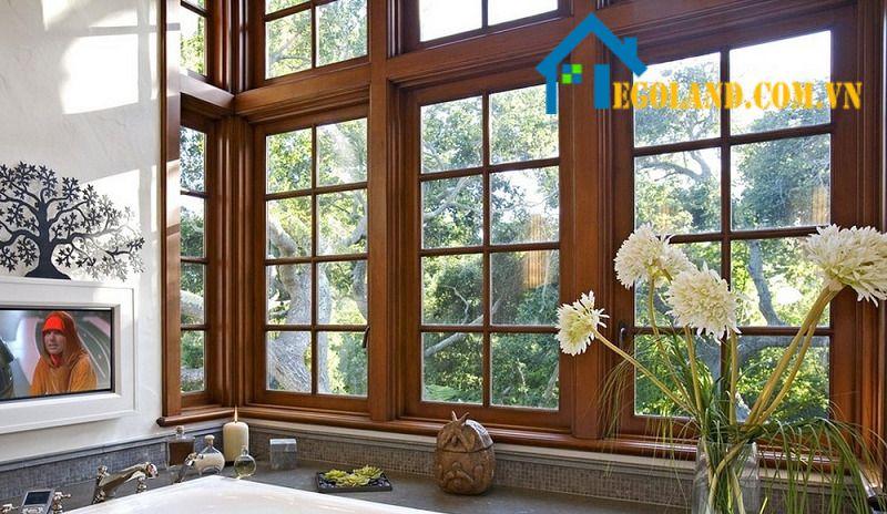 Kích thước cửa sổ 2 cánh và 4 cánh phải phù hợp với không gian