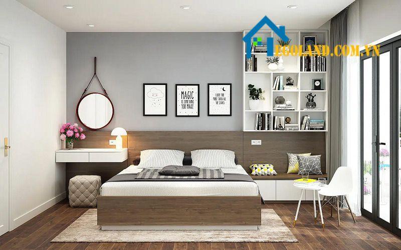 Phòng ngủ cần được thiết kế phù hợp với người ở