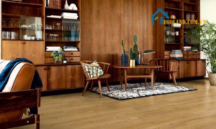 Sàn Pergo thuộc thương hiệu sàn của Bỉ với độ bền rất cao