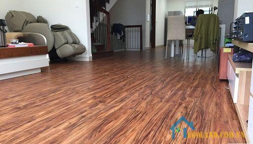 Sàn gỗ mới lát