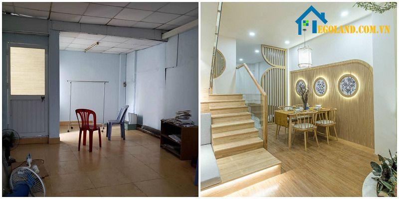 Cầu thang nên thiết kế sao cho phù hợp với những đồ nội thất trong nhà