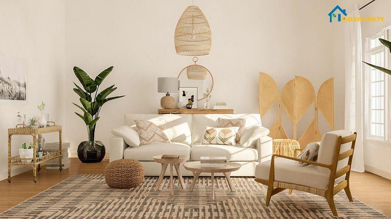 Chất liệu là một trong các đặc trưng Decor trong thiết kế về nội thất