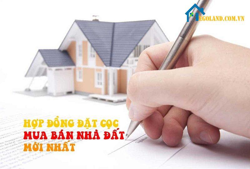 Chia sẻ mẫu hợp đồng đặt cọc mua nhà