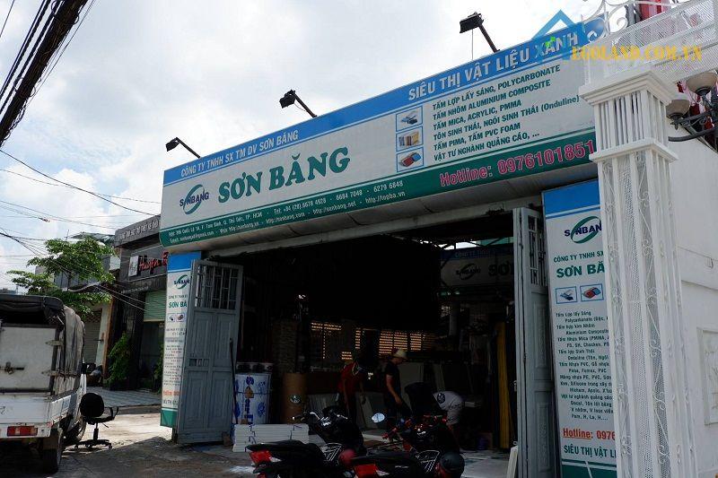 Công ty TNHH SX TM DV Sơn Băng - 1 trong 10 đơn vị cung cấp ốp Alu mặt dựng uy tín