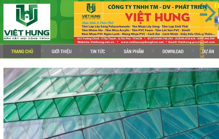 Công ty TNHH Thương Mại - Dịch Vụ - Phát triển Việt Hưng