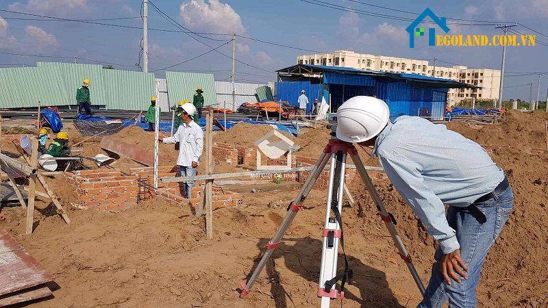 Đất dự án cũng có cách đo riêng