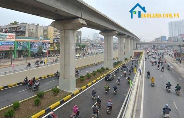 Đất phát triển hạ tầng nằm trong danh mục của đất phát triển hạ tầng cấp quốc gia