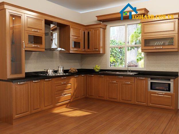Hệ thống chiếu sáng cũng là một trong những điều mà bạn cần phải lưu ý khi thiết kế nhà bếp