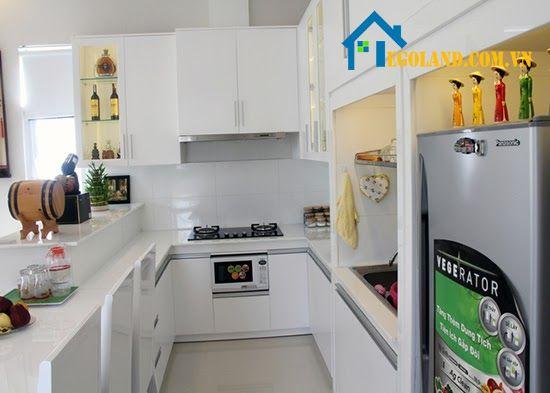 Mẫu nhà bếp nông thôn thiết kế đơn giản thích hợp với những không gian nhỏ