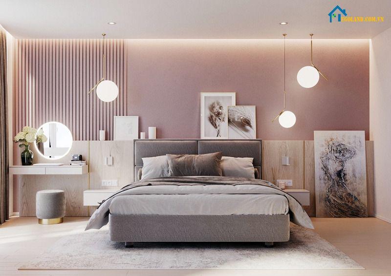 Màu sắc đặc biệt cần phối hợp cùng đồ nội thất khá hài hòa