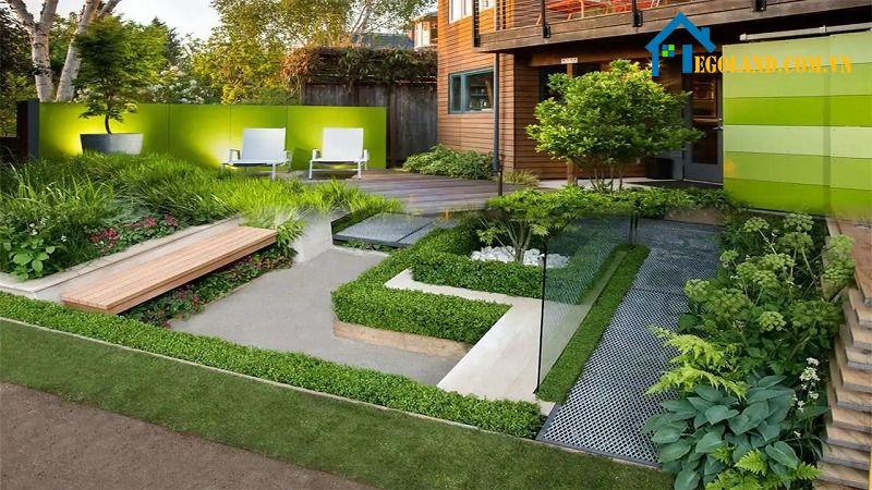 Một số lưu ý khi tự thiết kế mẫu sân vườn đẹp