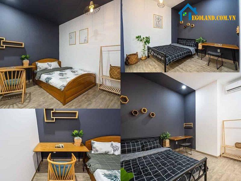 Phòng ngủ nên lựa bộ nội thất với chất liệu gỗ