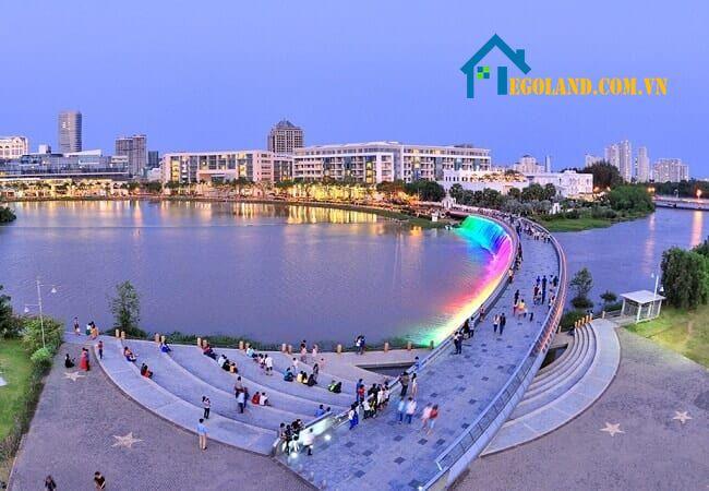 Quận 7 là một trong 5 quận mới của TP. Hồ Chí Minh