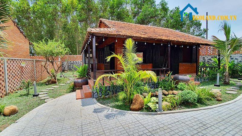 Sân vườn đẹp tự làm phong cách đồng quê của Việt Nam