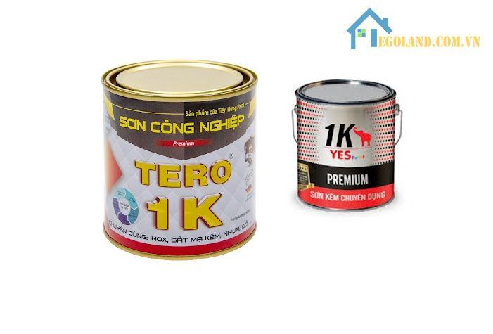 Sơn 1K được dùng cho các sản phẩm mây tre đan, đồ gỗ hoặc kim loại.