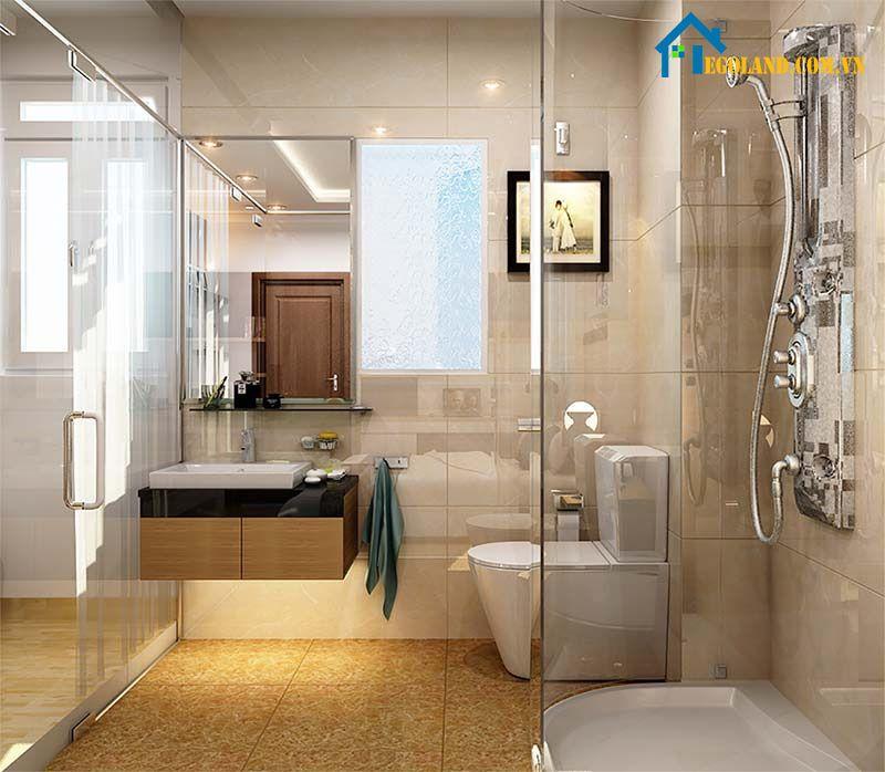 Tiêu chuẩn khi thiết kế nhà vệ sinh và nhà tắm riêng