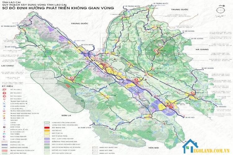 Bản đồ Lào Cai về du lịch