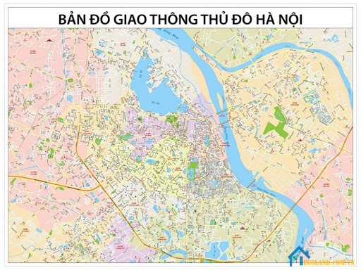 Bản đồ Hà Nội về giao thông