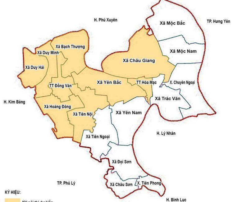 Bản đồ Hà Nam