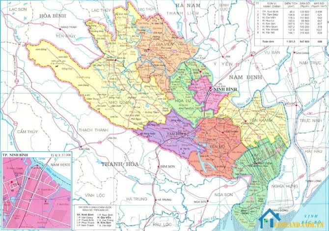 Bản đồ Ninh Bình