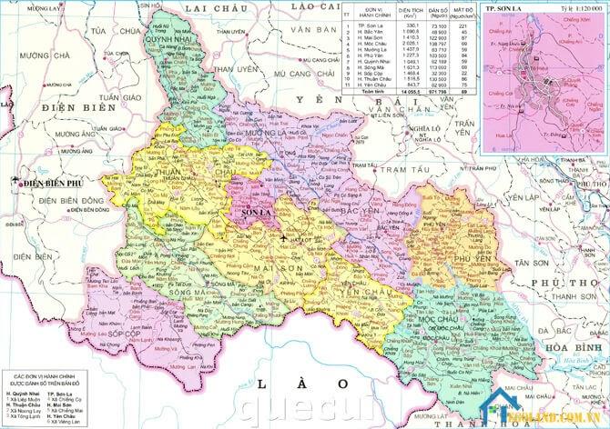 Bản đồ Sơn La