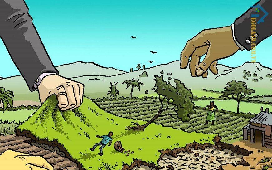 Chuyển đổi mục đích sử dụng đất cần phải có quyết định của cơ quan có thẩm quyền