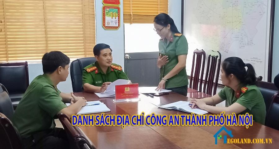 Công an Thành phố Hà Nội