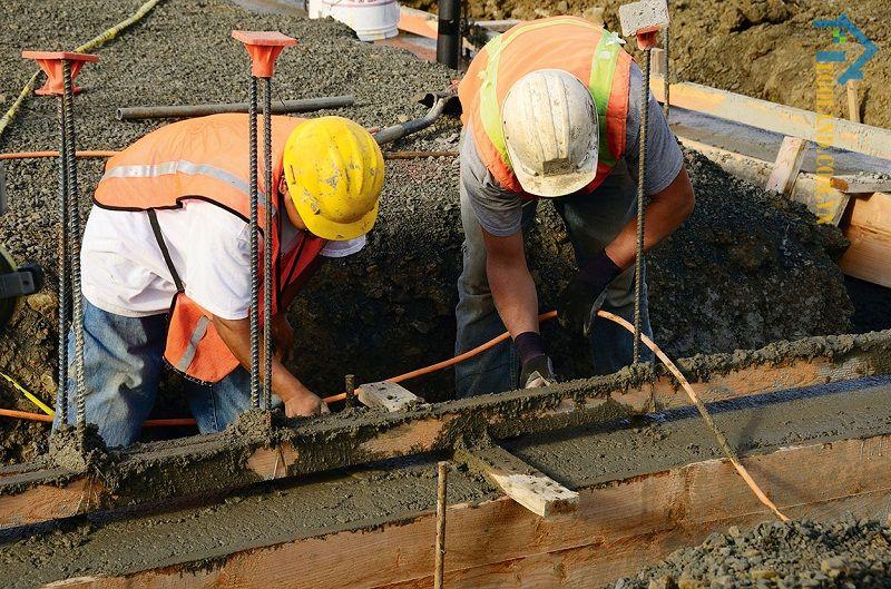 Đảm bảo thuận tiện về công tác thi công là một trong các tiêu chuẩn đào đất hố móng