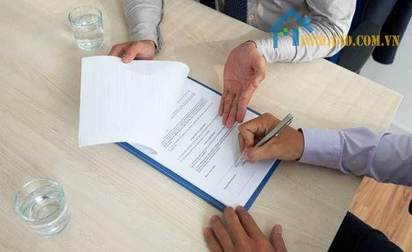 Làm thế nào để viết một hợp đồng đặt cọc khi thuê nhà?
