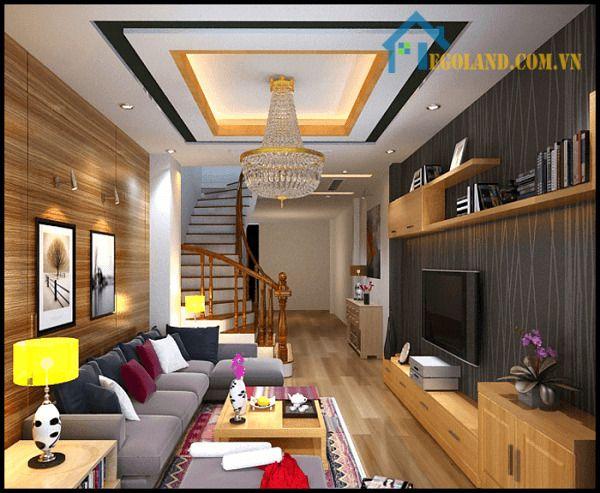 Phòng khách sang trọng và đầm ấm