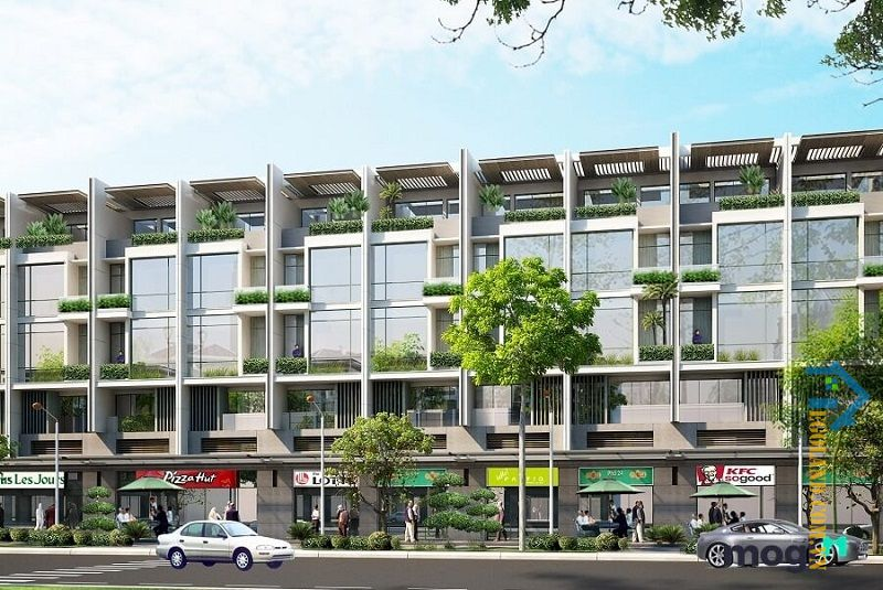 Semi-detached house được đánh giá đặc biệt về thiết kế kiến trúc
