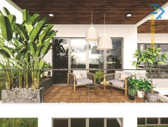 Tầng tum giúp cho kiến trúc tổng thể của căn nhà có điểm nhấn, tăng tính thẩm mỹ và trở nên hiện đại, bề thế hơn