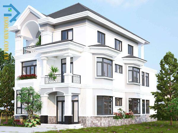 Trắng là màu sắc thuộc hành Kim nên rất phù hợp cho gia chủ mệnh Thủy lựa chọn để sơn nhà