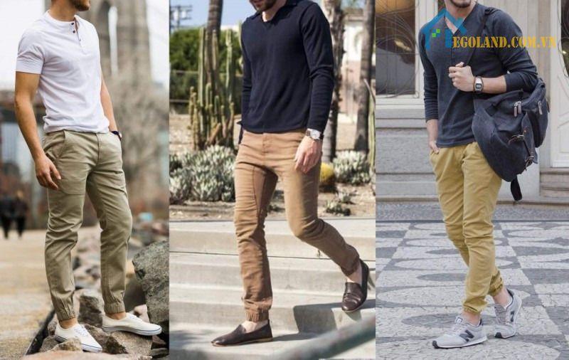Trong trường hợp bạn yêu thích phong cách thoải mái thì áo thun mix cùng quần màu be chính là sự lựa chọn tối ưu nhất