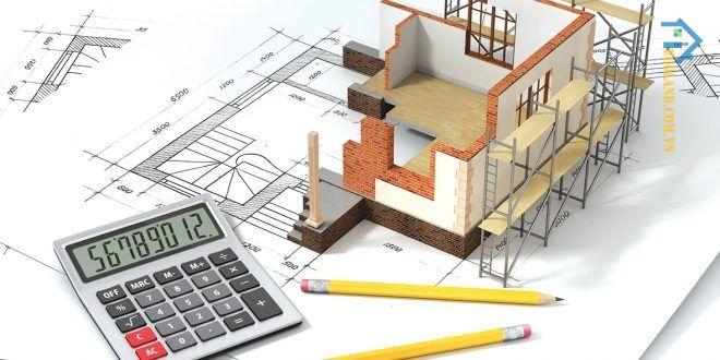 Việc tính diện tích xây dựng theo đơn vị mét vuông chính là cách mà hiện nay các nhà thầu áp dụng