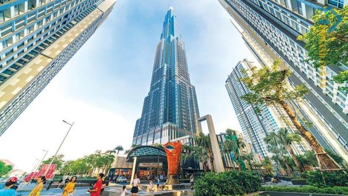 Vincom Landmark 81 hiện đang là cao ốc không chỉ cao nhất tại Thành phố Hồ Chí Minh mà còn đứng đầu Việt Nam