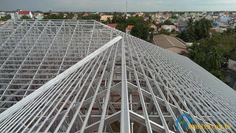 Xà gồ đóng vai trò quan trọng trong các công trình xây dựng