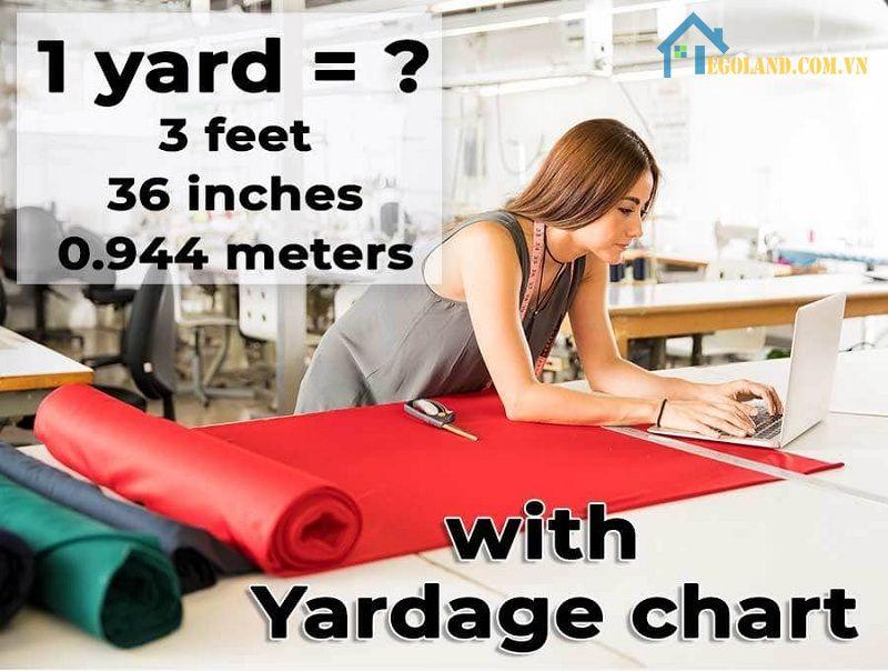 1 yard bằng bao nhiêu mét, cm, mm, dm, hm, km, feet… là thắc mắc chung của không ít người hiện nay