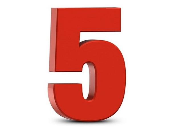 Ý nghĩa số 5