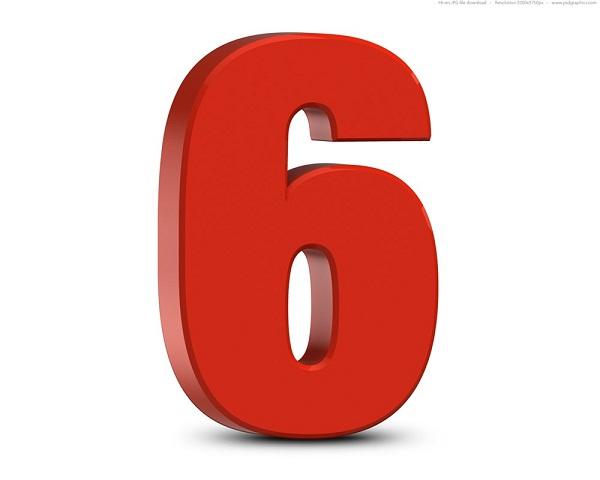Ý nghĩa số 6