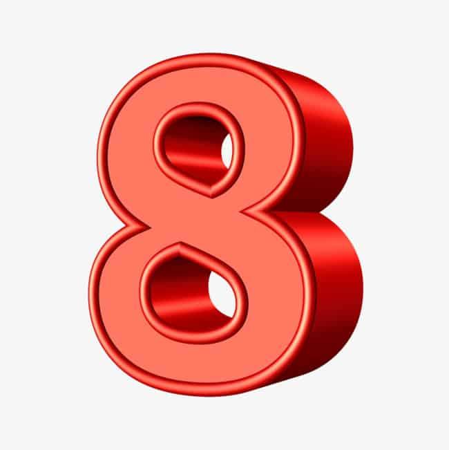Ý nghĩa số 8