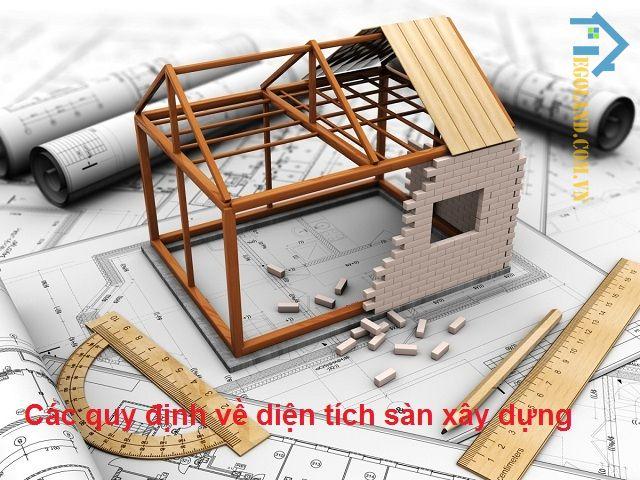 Các quy định về diện tích sàn xây dựng