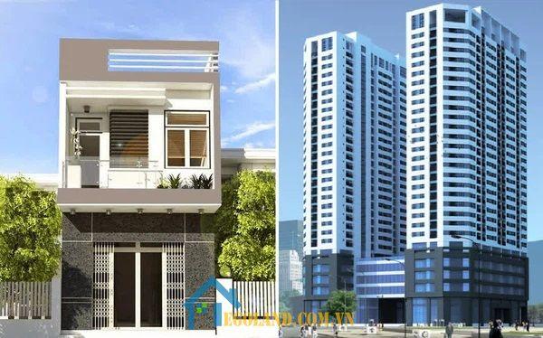 Các yếu tố tác động đến việc nên mua nhà hay chung cư