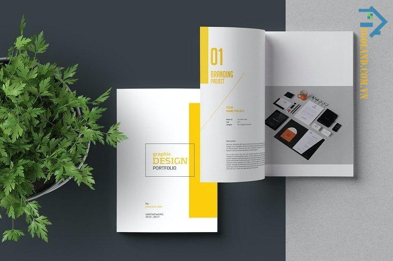 Cần thiết kế những portfolio ấn tượng để thu hút nhà tuyển dụng hoặc đối tác