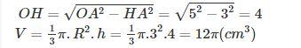 Ví dụ tính thể tích khối trụ