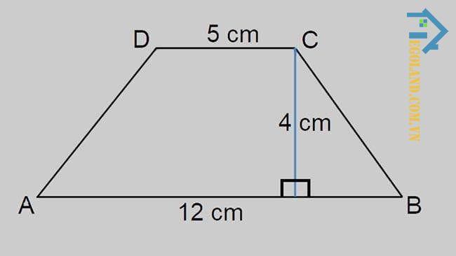 Đối với hình thang thì tổng số đo 4 cạnh của hình thang sẽ là chu vi của hình thang đó