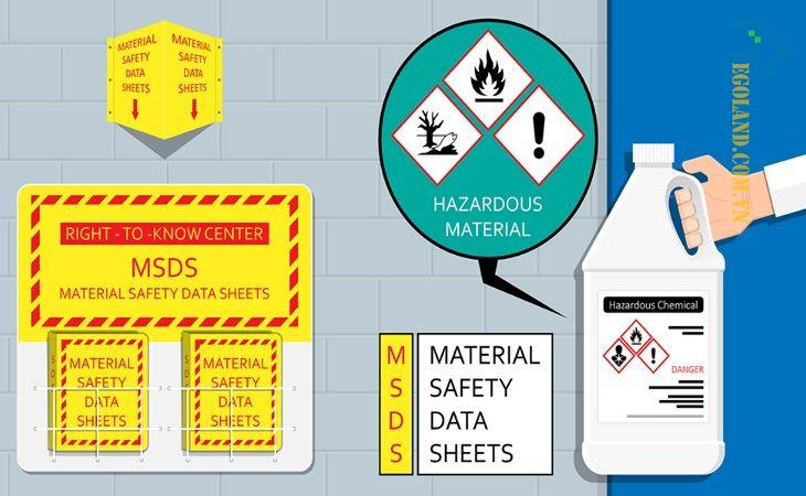 MSDS cung cấp cho các bên liên quan nhiều thông tin quan trọng
