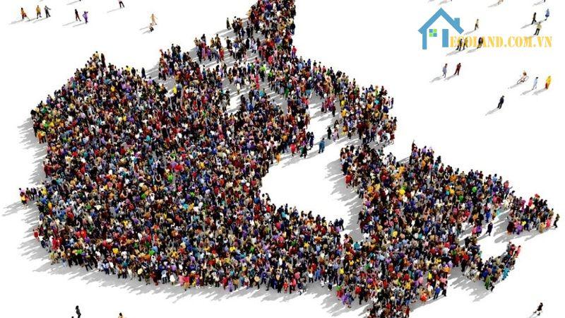 Mật độ dân số loài người chính là phép đo được sử dụng để tính toán số lượng người trên một đơn vị diện tích